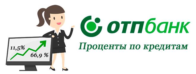 Проценты по кредитам ОТП Банка